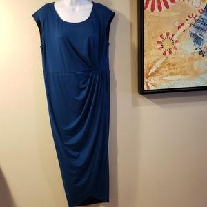 Torrid Sleeveless Ruched Wrap Dress Size 0
